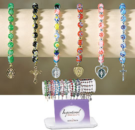 Beautiful Rosary Bracelets