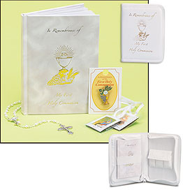 Inspired Memories First Communion Zippered Wallet Set - Girl
