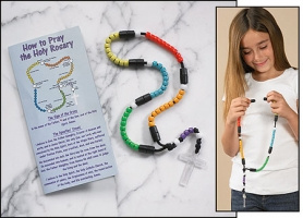 Multi-Color Snap-Together Rosary