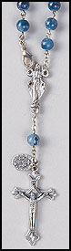 Miraculous Medal One Decade Auto Rosary