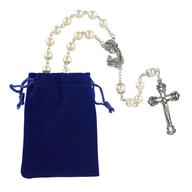 Madonna and Child Rosary for Mother's Day