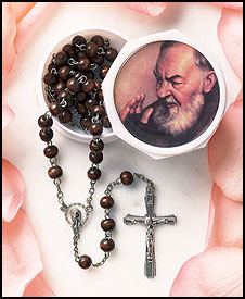 St.  Pio Rose Scented Rosary