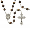 Father's Day Rosary Tiger's Eye
