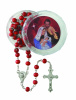 Christmas Nativity Rosary with Case