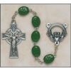 Shamrock Our Lady of Knock Irish Rosary